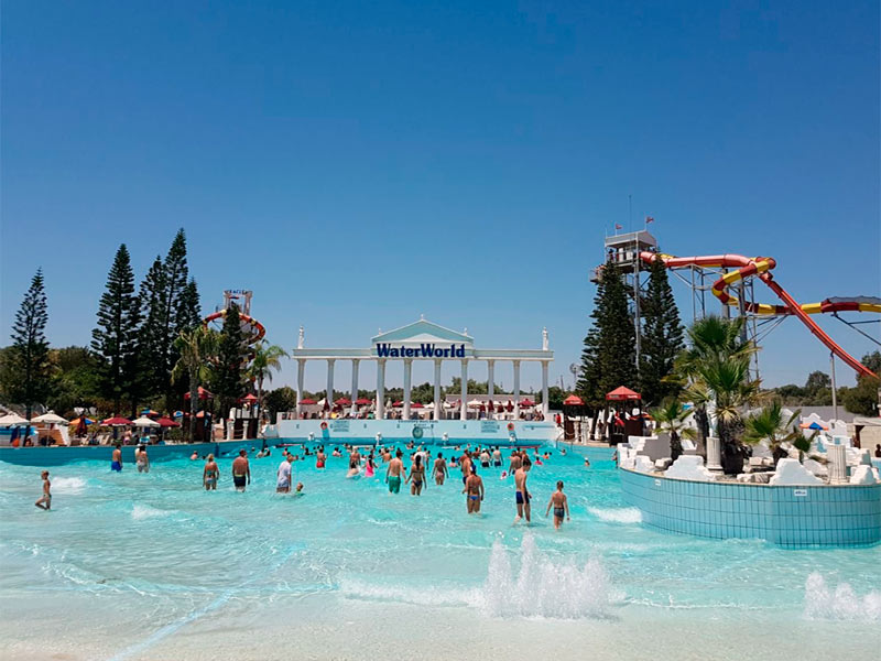 Cyprus Ayia Napa Waterpark Waterworld
