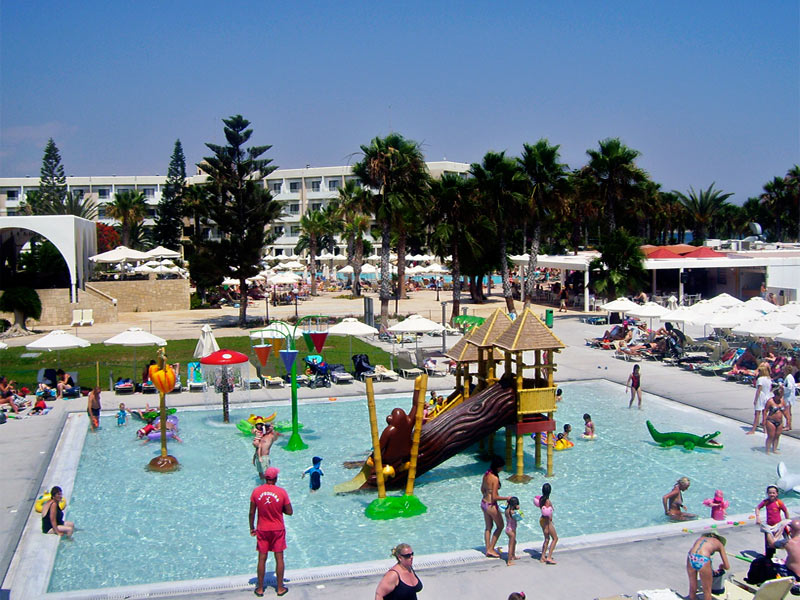 Louis Phaeton Beach Hotel Waterpark Paphos
