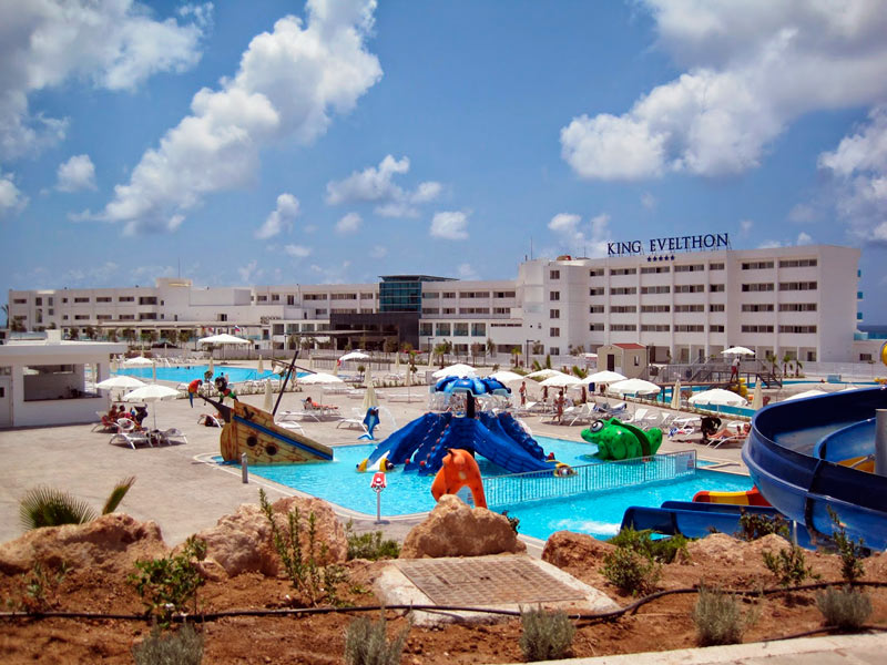 Waterpark King Evelthon Paphos Cyprus