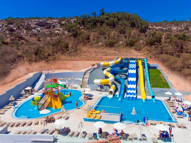 Narcissos Waterpark Resort Cyprus Protaras Slides